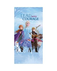 Frozen 2 Elsa & Anna Lead with Courage Beach Towel